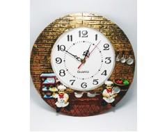 Doi Bucatari ceas de perete SP360