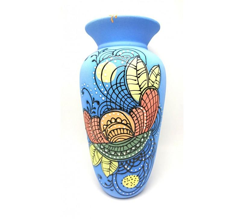 Blue vaza din ceramica
