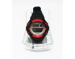 Ceas de mana electronic negru pentru copii