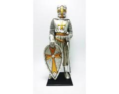 Cavaler Cruciat cu Sabie statueta
