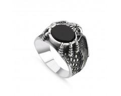 Gheara de Vultur inel din argint