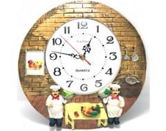Doi Bucatari ceas de perete