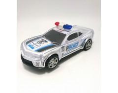 Masina de politie cu lumini si sirena