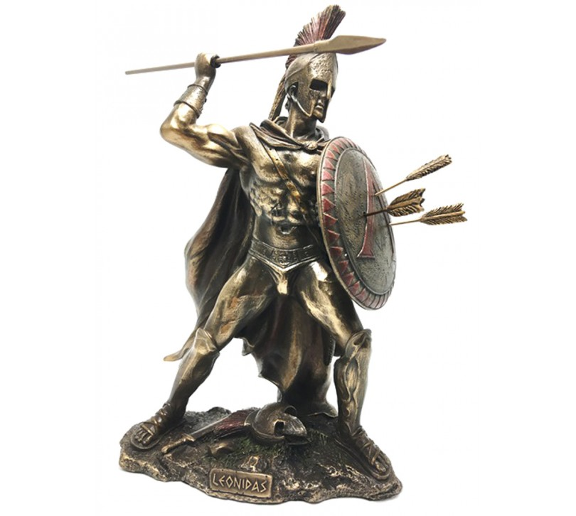 Cadouri barbati Leonidas in lupta - statueta Leonidas in lupta - statueta